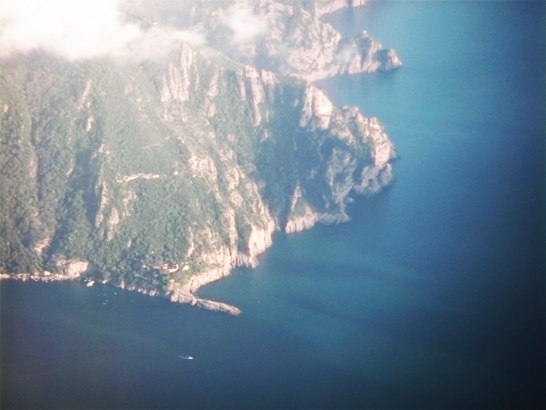 Punta Chiappa vista dall'alto