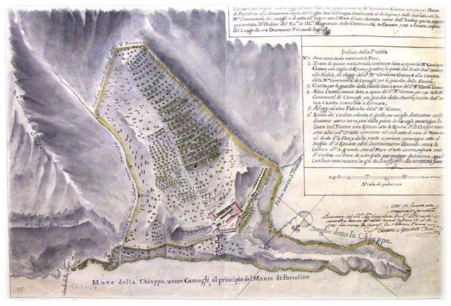 villa gnecco piantina